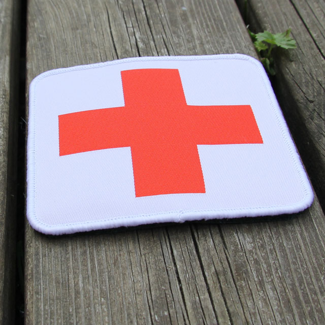 Medic Cross Hook Patch.