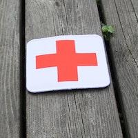 Medic Cross Hook Patch
