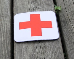 Medic Cross Hook Patch