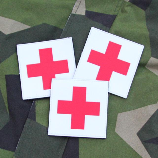 Product photo of Medic Cross PVC Hook Patch x 3 Bundle.