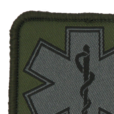 MEDIC Subdued Green Star Patch