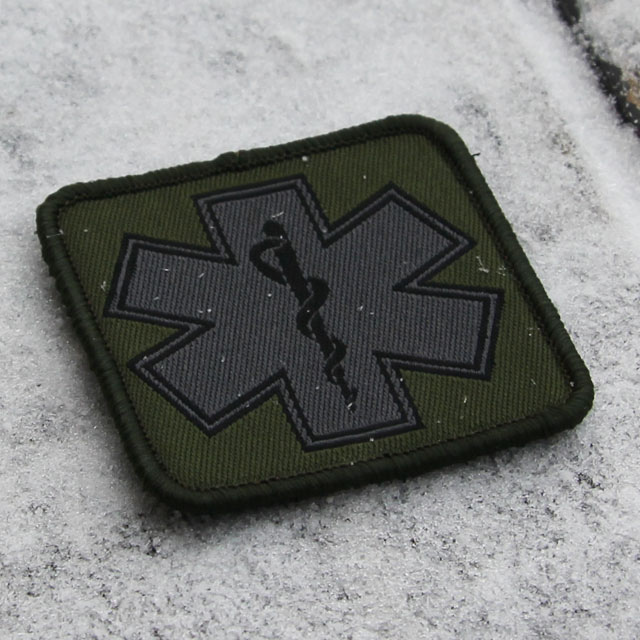 Product picture of a MEDIC Subdued Green Star Patch.