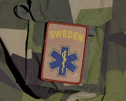 SWE MEDIC Desert Star Hook Patch