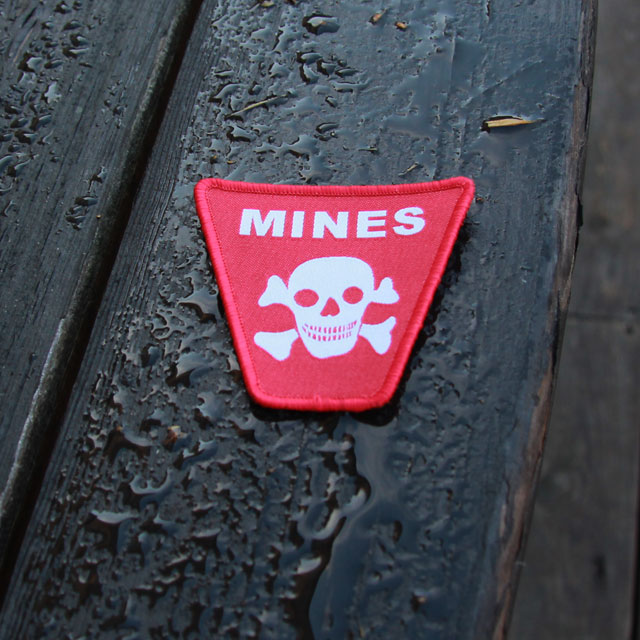 Mines Hook Morale Patch.