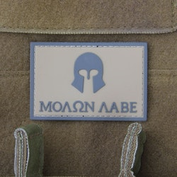 Molon Labe Coyote PVC Hook Patch