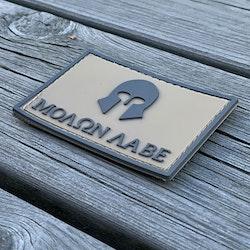 Molon Labe Coyote PVC Hook Patch