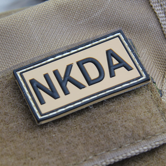 NKDA Desert Hook PVC Patch.