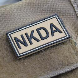 NKDA Tan PVC Patch