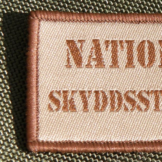 Nationella Skyddsstyrkorna Desert Hook Patch.