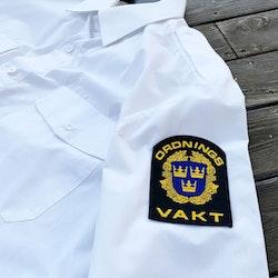 Ordningsvakt Rundad Tygmärke