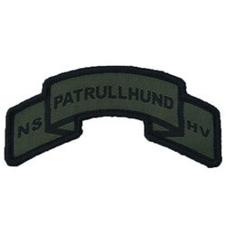Patrullhund Hook Scroll Patch