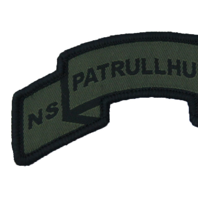 Patrullhund Hook Scroll Patch.