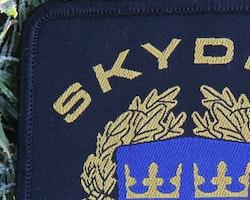 Skyddsvakt tygmärke kardborre Svart