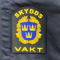 Skyddsvakt Rundad Kardborremärke