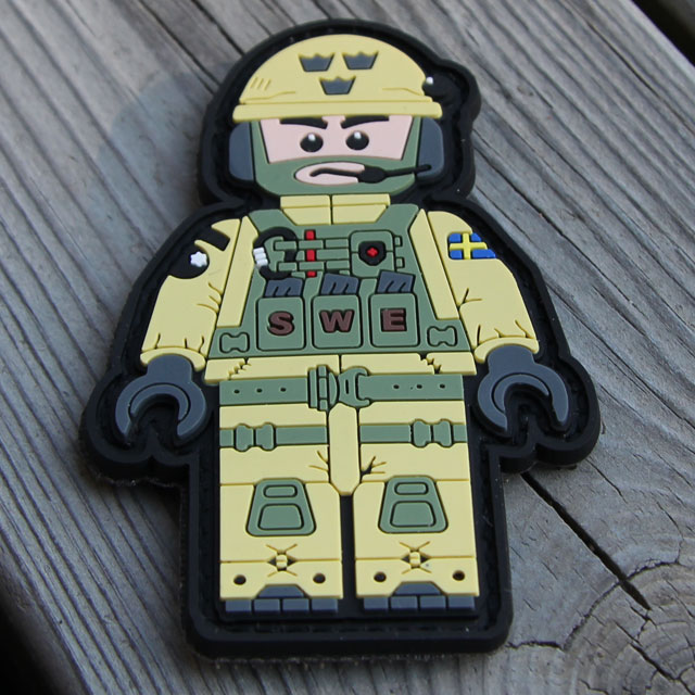 Product photo of a SWE SOG PVC Figur Patch.