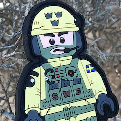 SWE SOG PVC Figur Patch