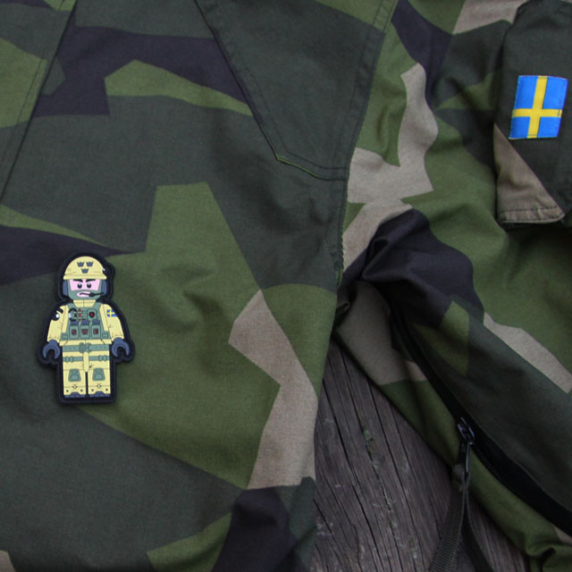 M90 jacket and a SWE SOG PVC Figur Patch.