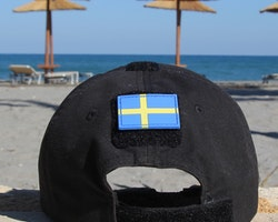 Sweden Flag PVC Arm Patch