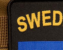 Sweden Hook Patch Black