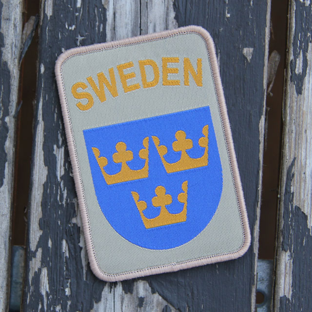 Sweden hook Patch Desert.