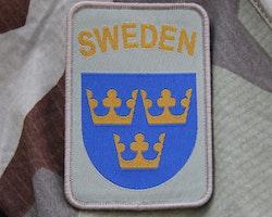 Sweden hook Patch Desert