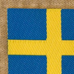 Sweden Flag Arm Patch