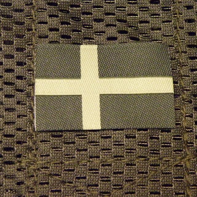 Sweden Flag Subdued Green.