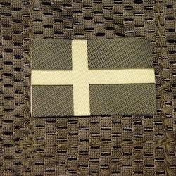 Sweden Flag Subdued Green