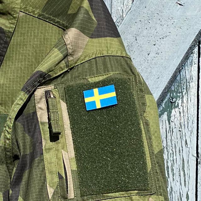 Sweden Flag Hook Patch Arm