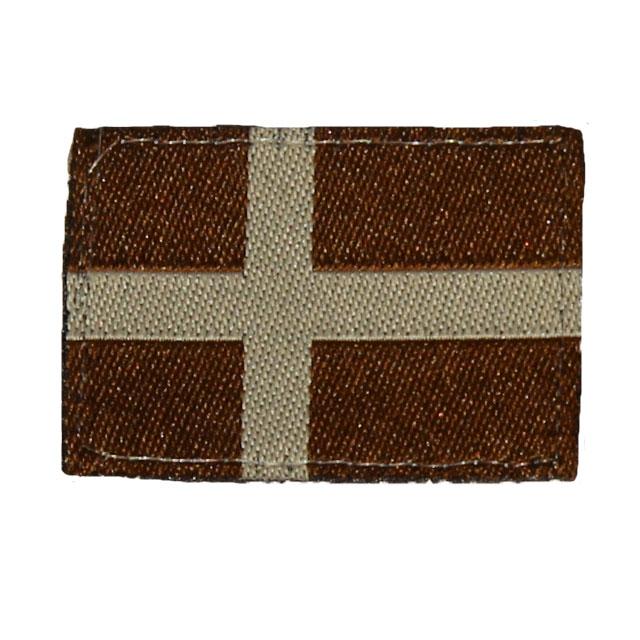 Sweden Flag Hook Subdued Desert.