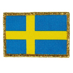 Sweden Flag Gold