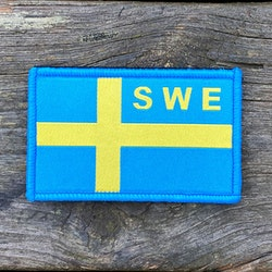 Sweden Flag OPS Blue Yellow Patch