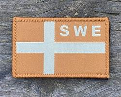Sweden Flag OPS Sand Patch