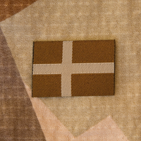 Sweden Flag Subdued Desert