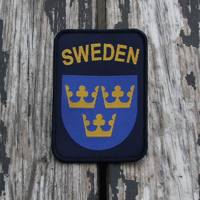 Product photo Sweden Hook Patch Navy Blue.