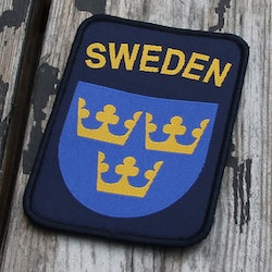 Sweden Hook Patch Navy Blue