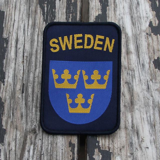 Sweden Hook Patch Navy Blue.