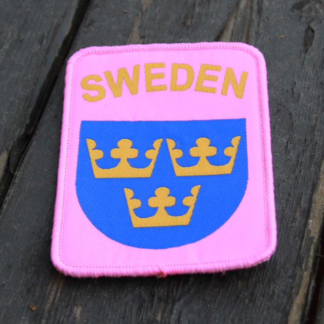 Sweden Pink Patch.