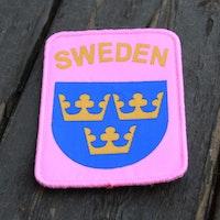 Sweden Pink Patch