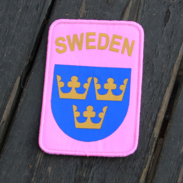 Product photo of a Sweden Pink Patch.