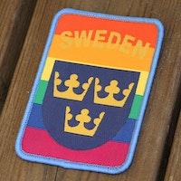 Sweden Hook Patch Rainbow