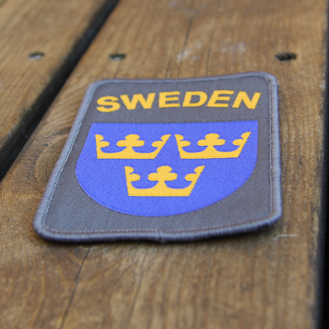 Product photo of a Sweden Hook Patch Ranger Green.