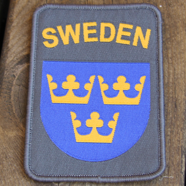 Sweden Hook Patch Ranger Green.