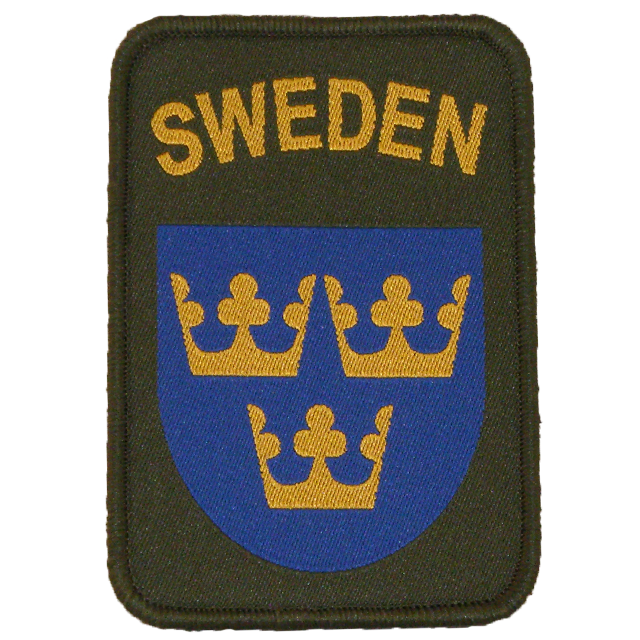 Sweden Sew-On Patch Green.