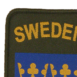 Sweden Sew-On Patch Green