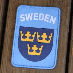 Sweden Hook Patch UN Blue