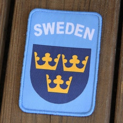 Sweden Hook Patch UN Blue