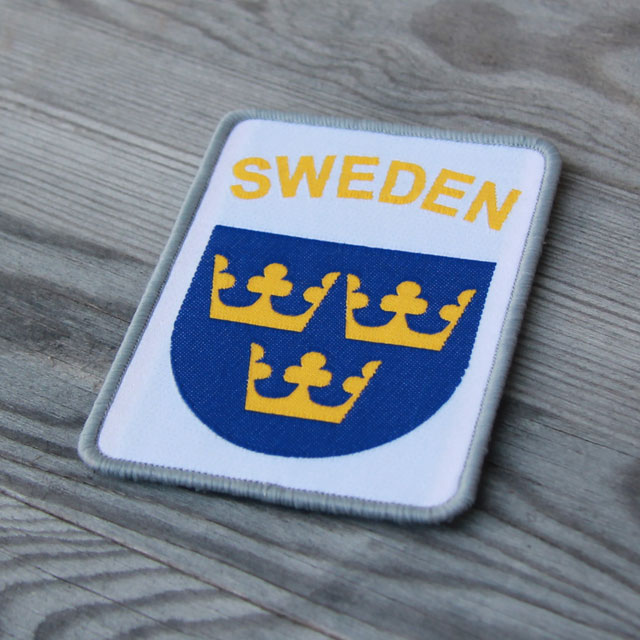 Sweden Hook Patch White.