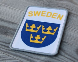 Sweden Hook Patch White
