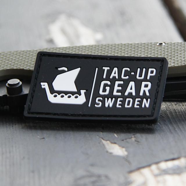 TUG Logo Hook PVC Patch Black/White.